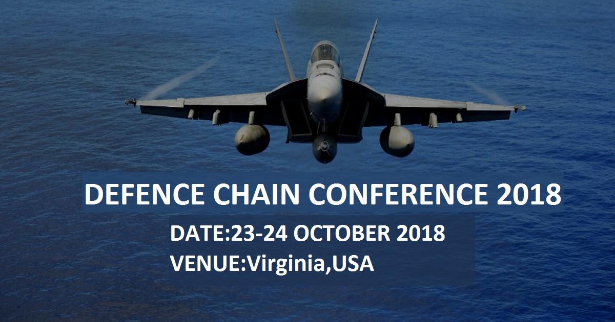 DefenseChain Conference 2018