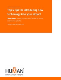 TOP 5 TIPS FOR INTRODUCING NEW TECHNOLOGY INTO YOUR AIRPORT