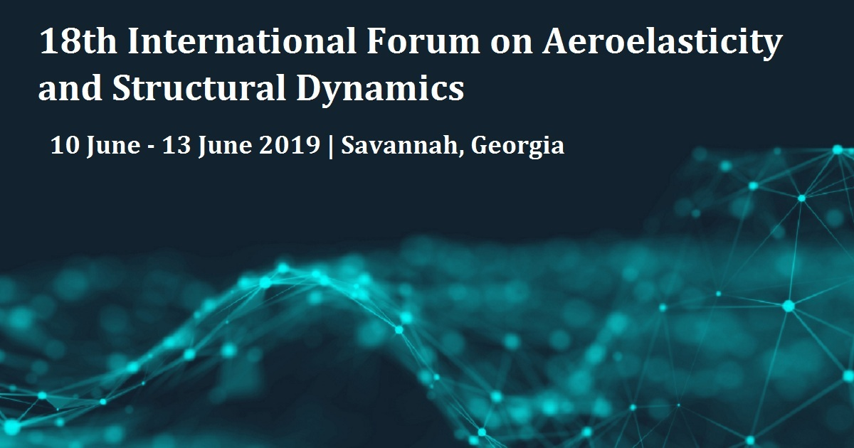 18th International Forum on Aeroelasticity and Structural Dynamics