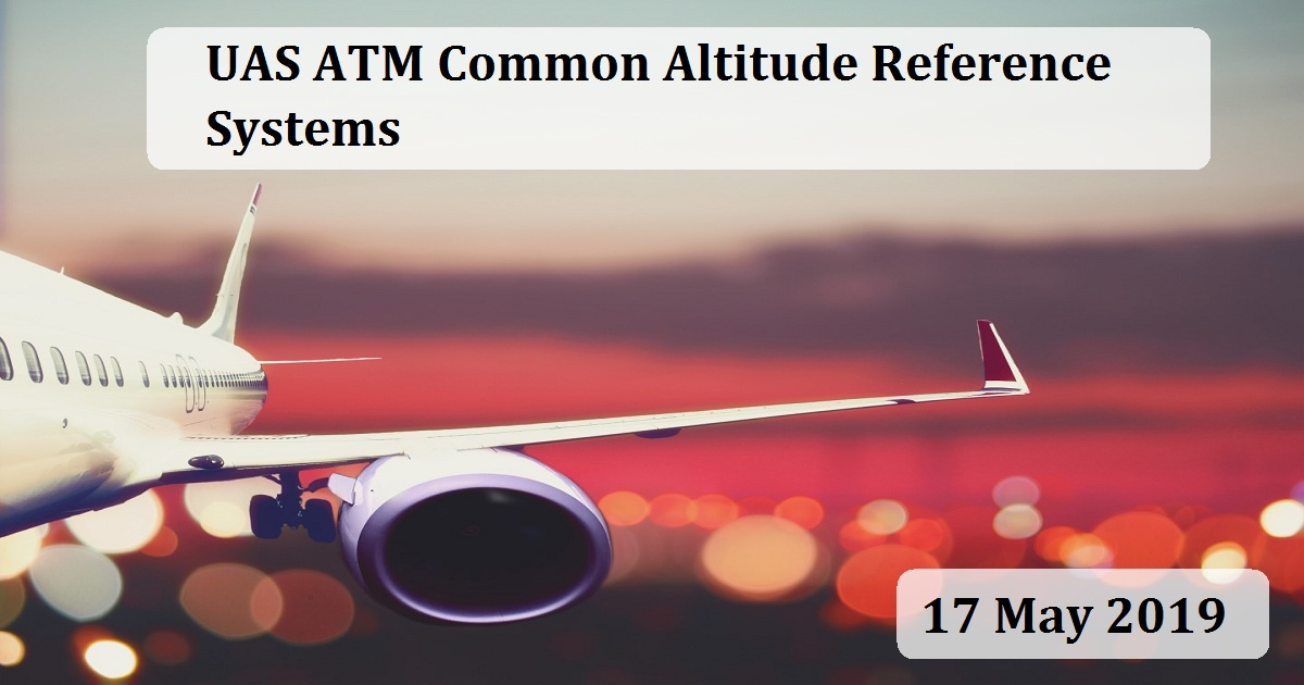 UAS ATM Common Altitude Reference Systems