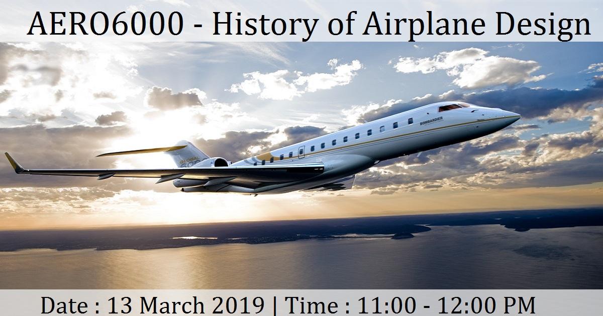 AERO6000 - History of Airplane Design