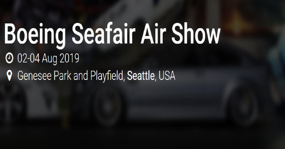 Boeing Seafair Air Show