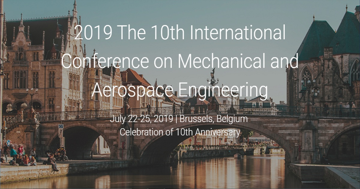 The 10th International Conference on Mechanical and Aerospace Engineering