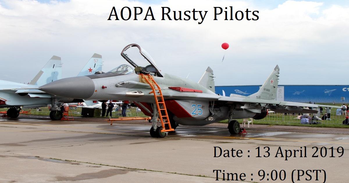 AOPA Rusty Pilots