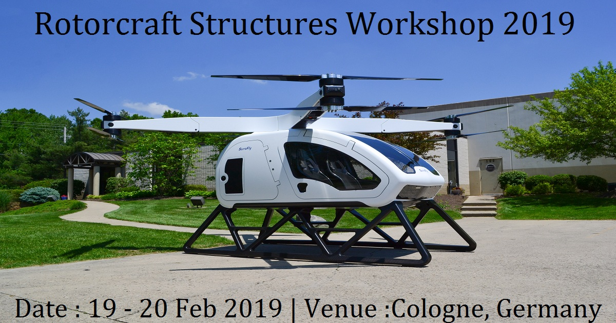 Rotorcraft Structures Workshop 2019