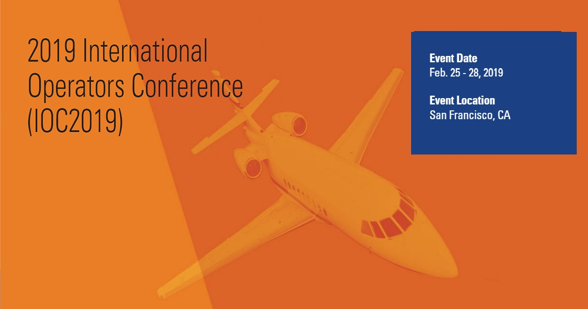 2019 International Operators Conference