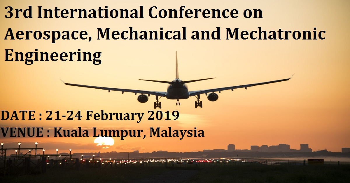 3rd International Conference on Aerospace