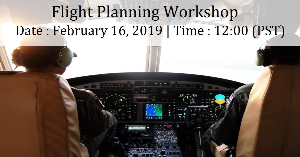 Flight Planning Workshop