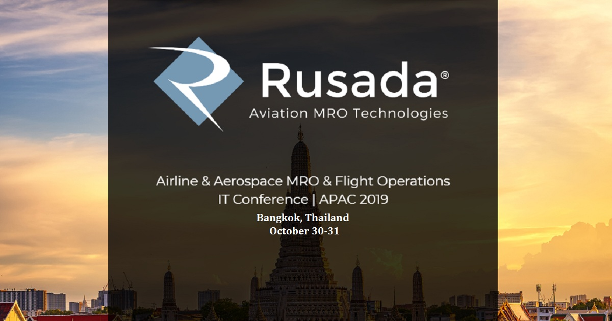 Airline & Aerospace MRO & Flight Operations IT Conference APAC 2019