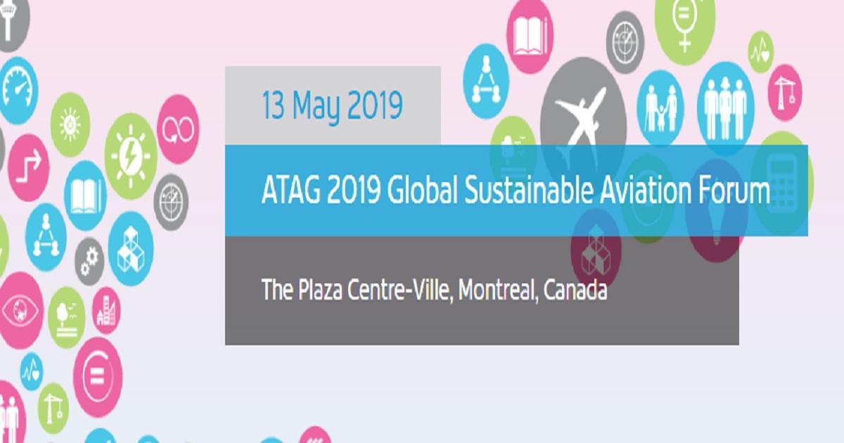 ATAG 2019 Global Sustainable Aviation Forum