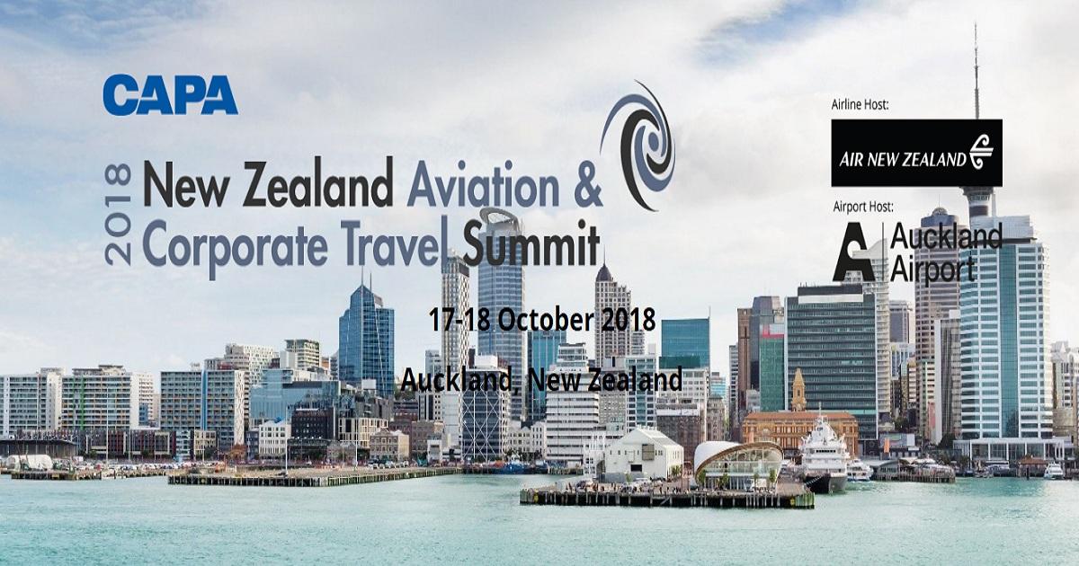 CAPA New Zealand Aviation & Corporate Travel Summit 2018