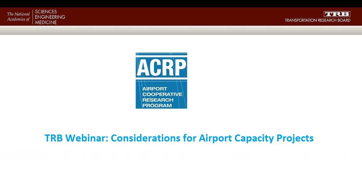Considerations for Airport Capacity Projects