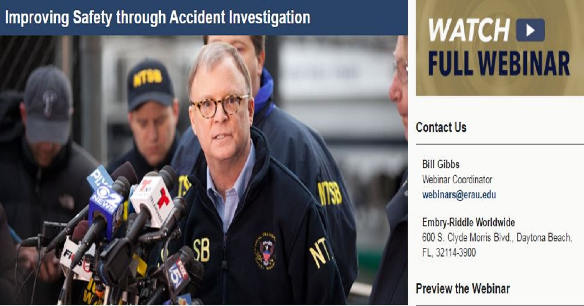 Improving Safety through Accident Investigation