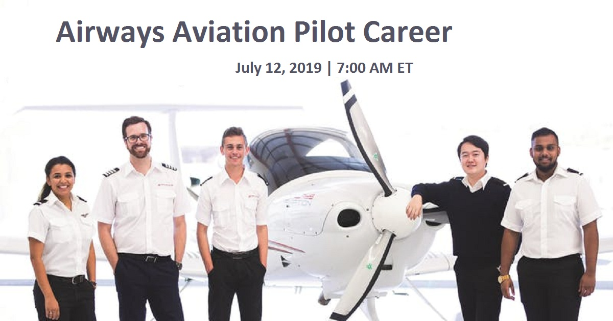 Airways Aviation Pilot Career