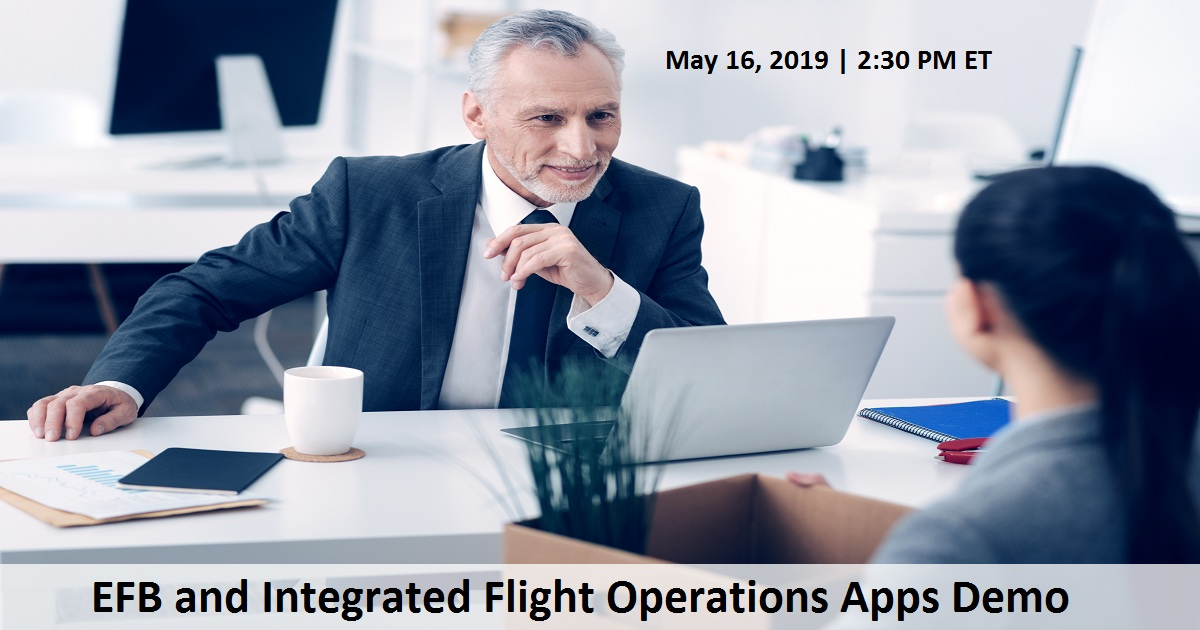 EFB and Integrated Flight Operations Apps Demo