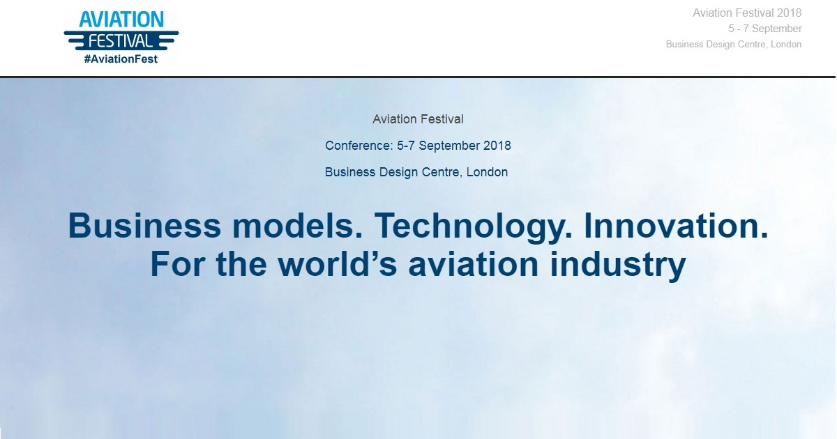 Business models. Technology. Innovation. For the world's aviation industry