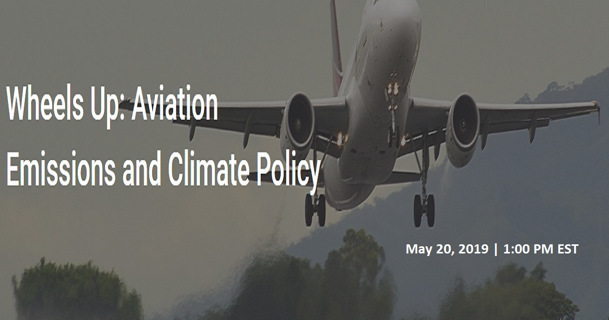 Aviation Emissions and Climate Policy