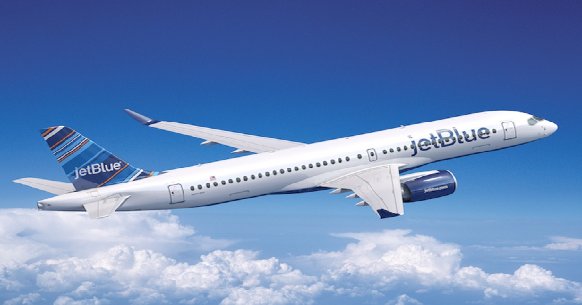 JetBlue orders up to 120 A220-300s.