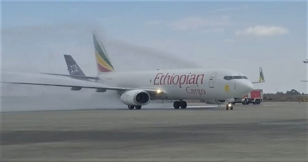 PICTURE: Ethiopian cargo division takes first 737-800SF