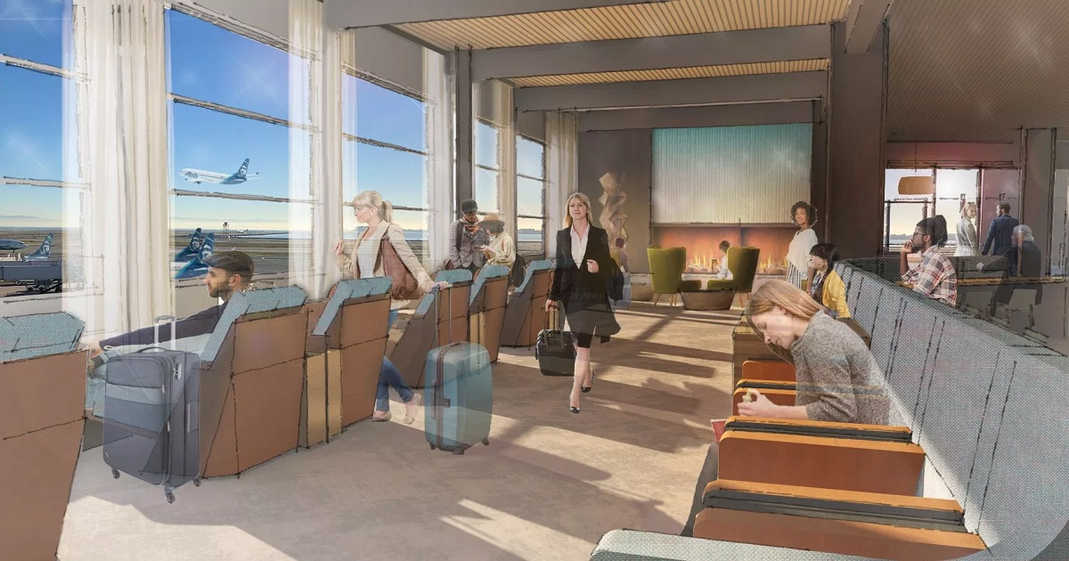 Alaska Airlines to build new lounge at San Francisco Airport