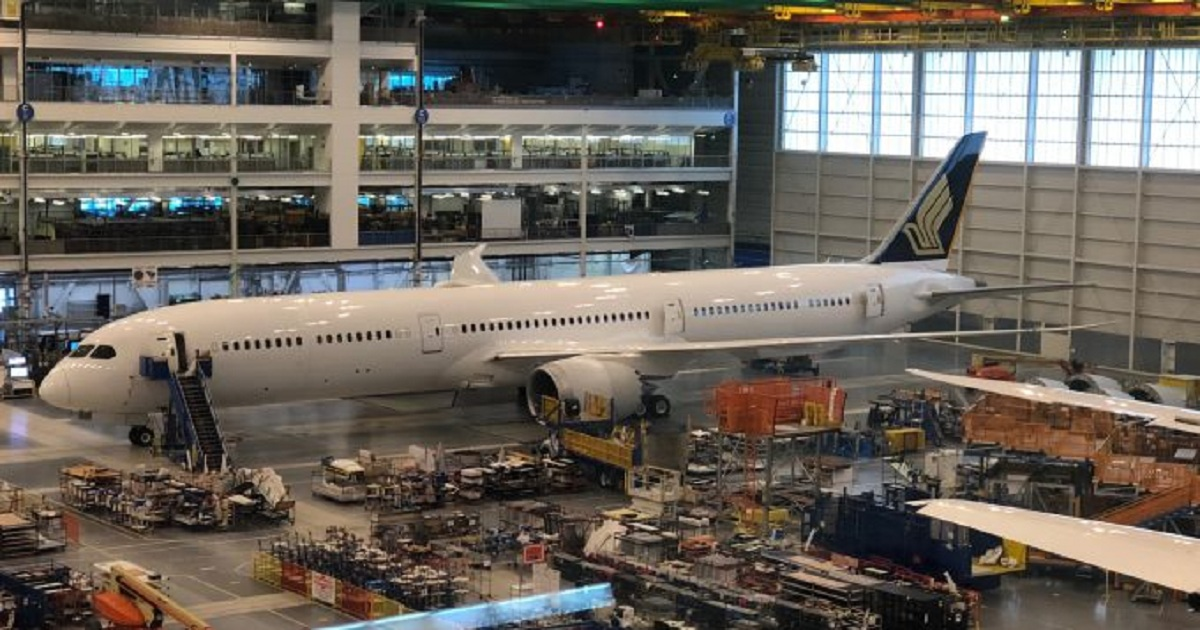 Ahead of Historic First 787-10 Delivery, Boeing Gives Update on 787 Program & South Carolina Facility