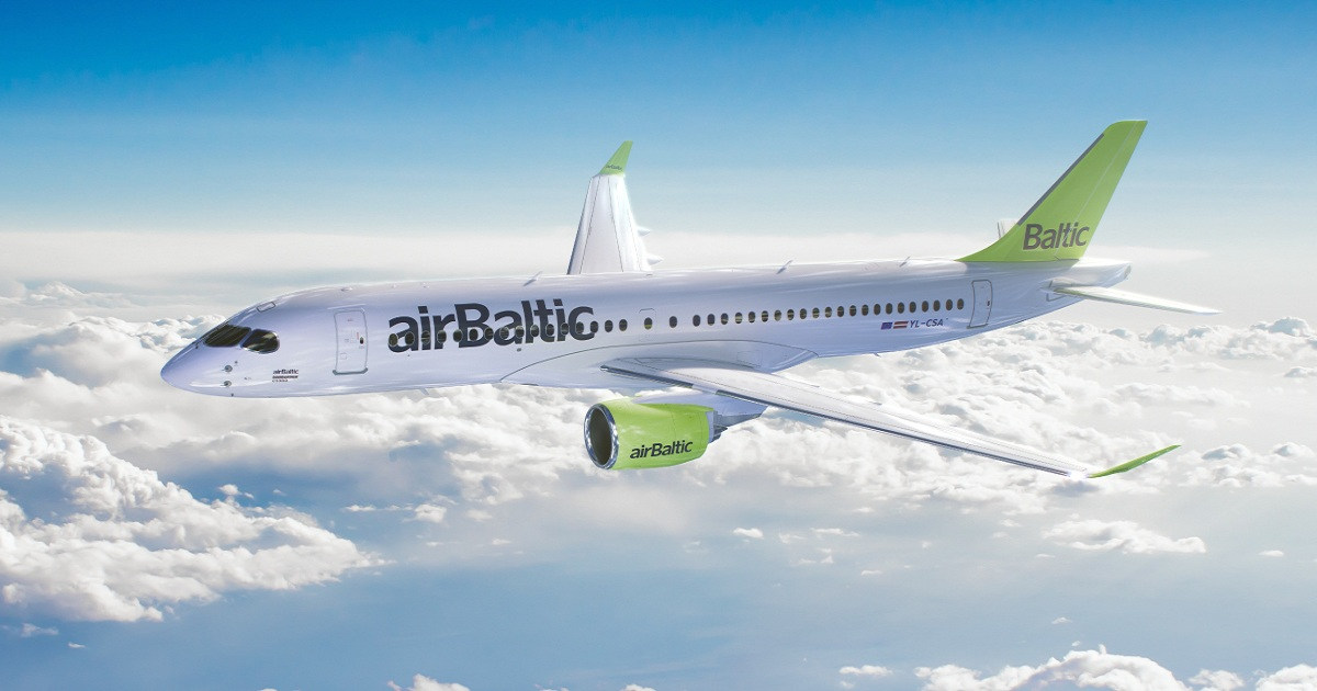 Air Baltic to buy A220 simulator for pilot training