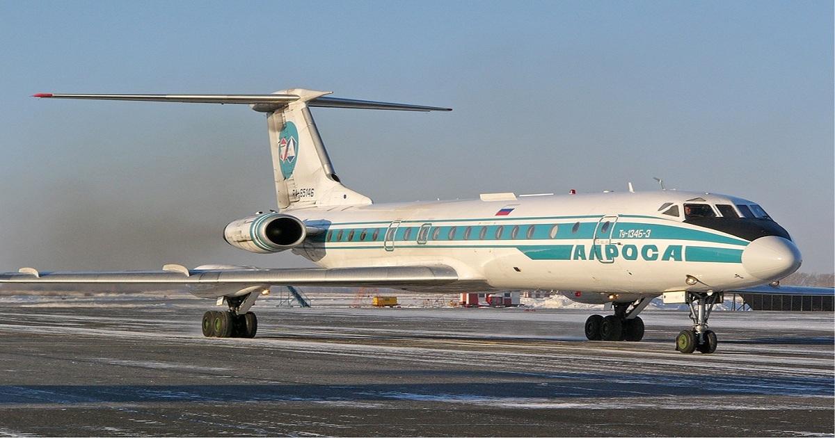 Alrosa signals end of Tu-134 operations