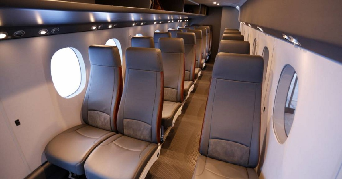 Textron Debuts SkyCourier Mockup in Pax Config