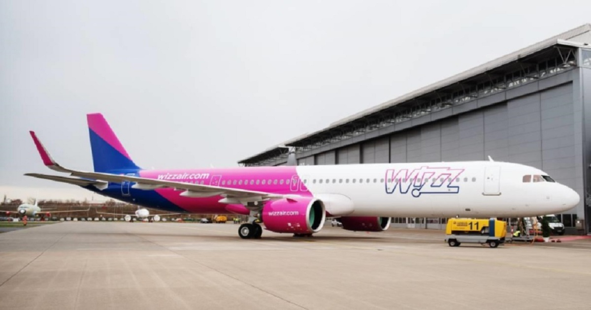 PICTURE: Wizz receives first A321neo