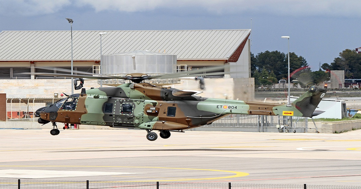 Spain plans to take more NH90 helicopters