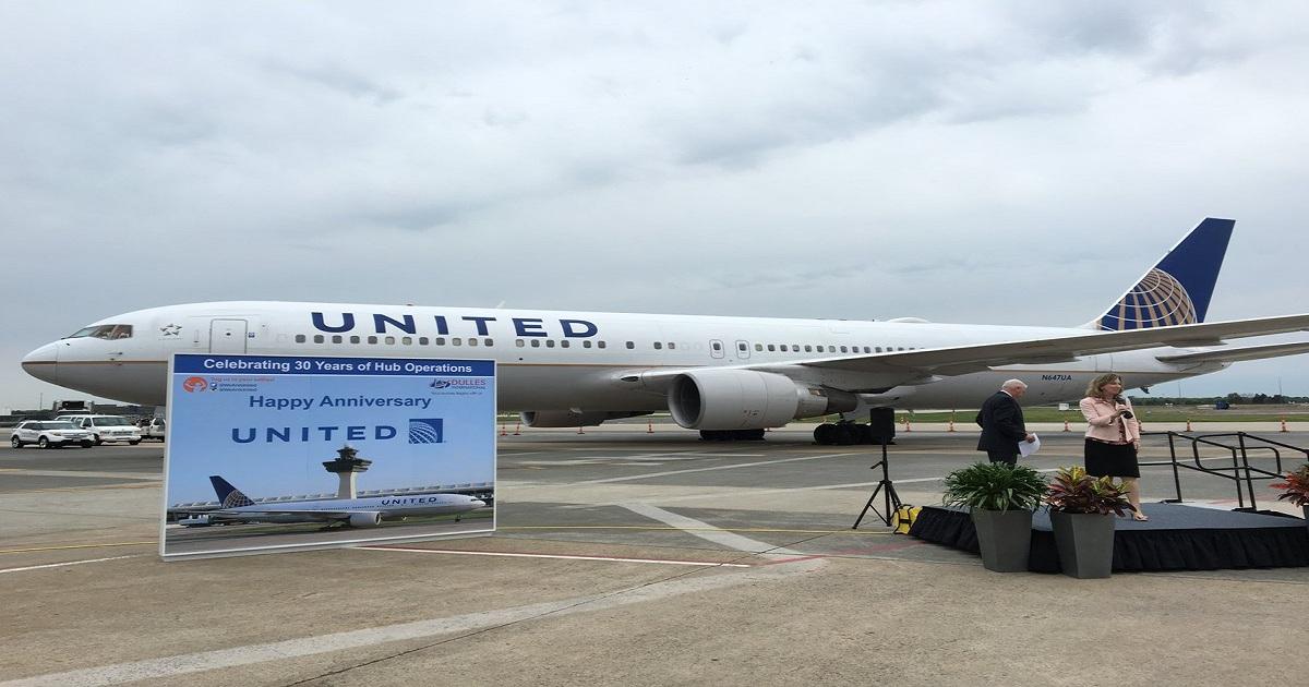 United could grow flights by half at Washington Dulles