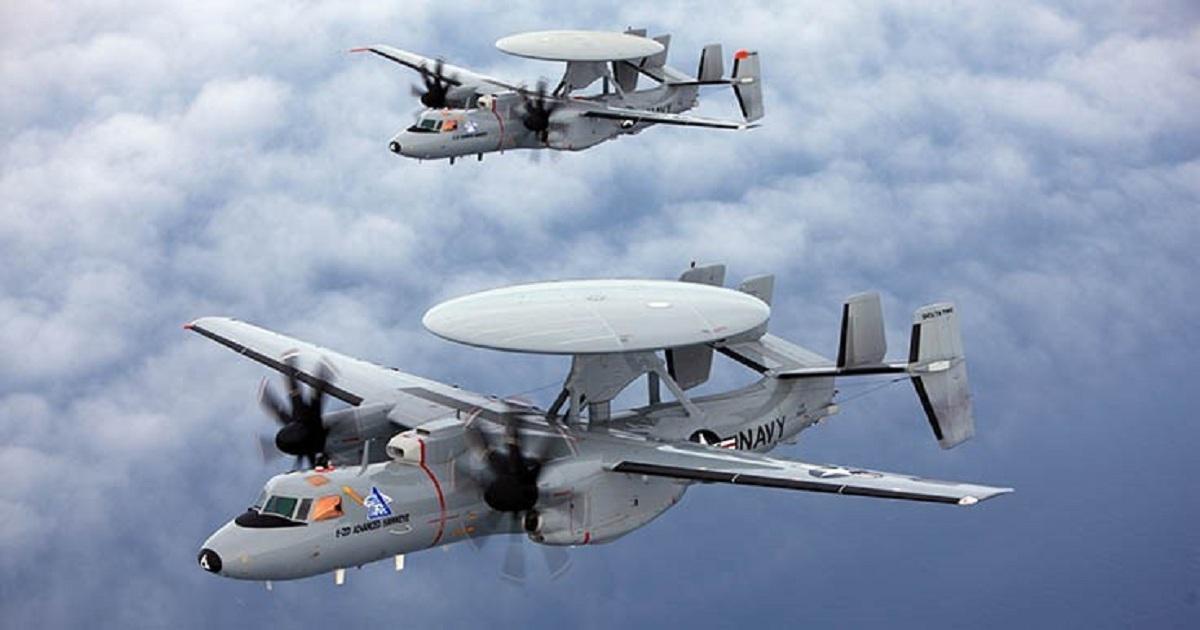 Northrop Grumman awarded contract for 24 E-2D aircraft
