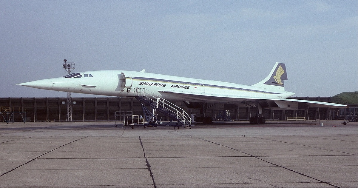 WHAT HAPPENED TO SINGAPORE AIRLINES' CONCORDE?