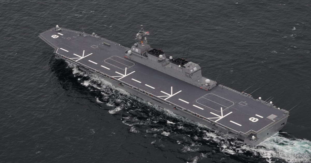 THE ONLY THING STOPPING JAPAN FROM BEING AN AIRCRAFT CARRIER SUPERPOWER