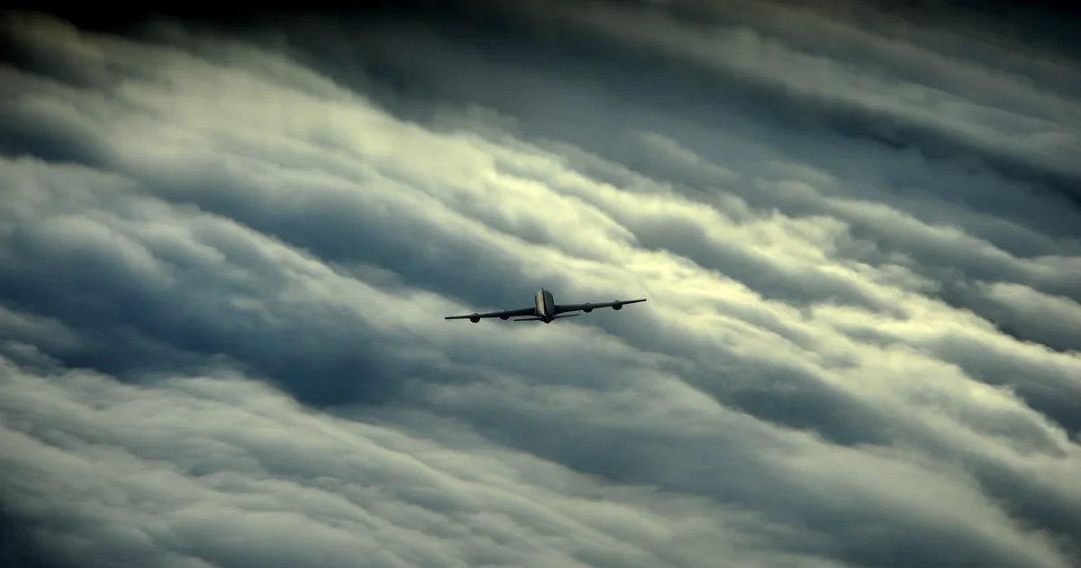 WHY COMMERCIAL PLANES COULD, BUT RARELY DO FLY OVER HURRICANES