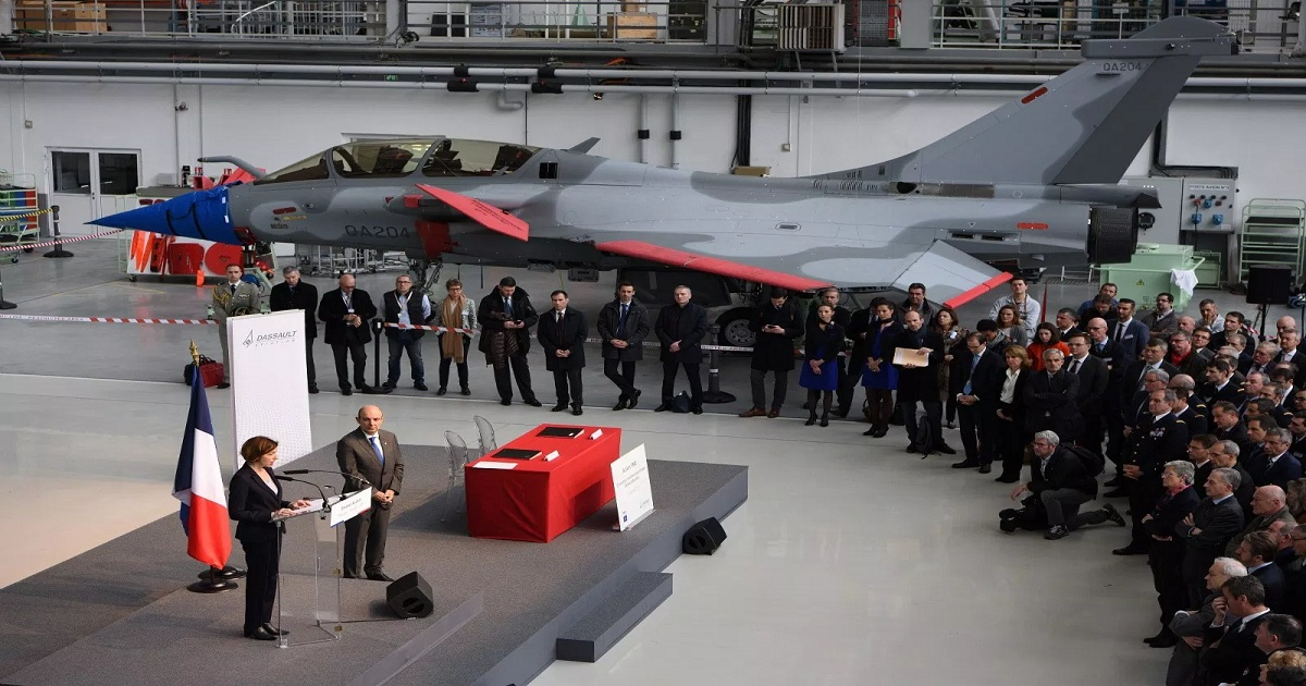 FRANCE ORDERS 28 RAFALE AIRCRAFT FOR $2.3 BILLION