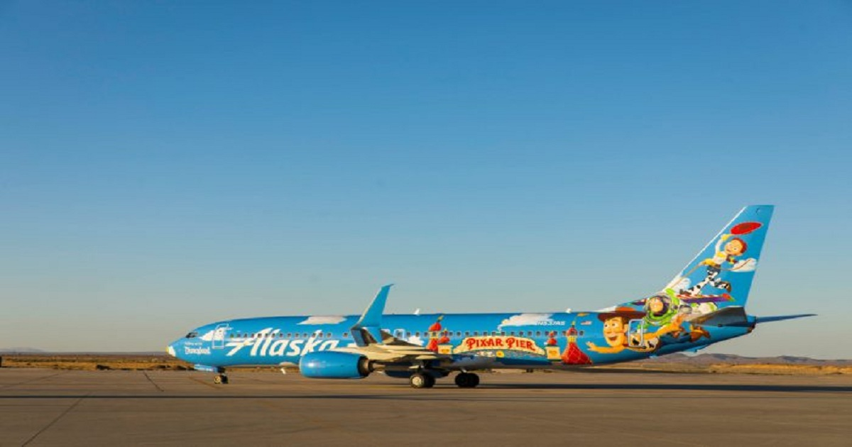 HOW AN ALASKA BOEING 737 WAS GIVEN A TOY STORY MAKEOVER